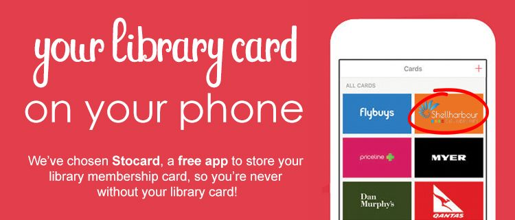 Your Library Card on your phone